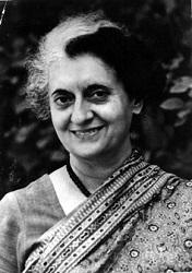 श्रीमती इंदिरा गांधी