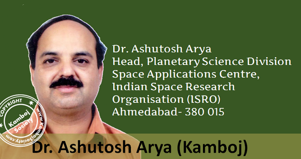 Dr. Ashutosh Arya - Head, Planetary Science Division, ISRO