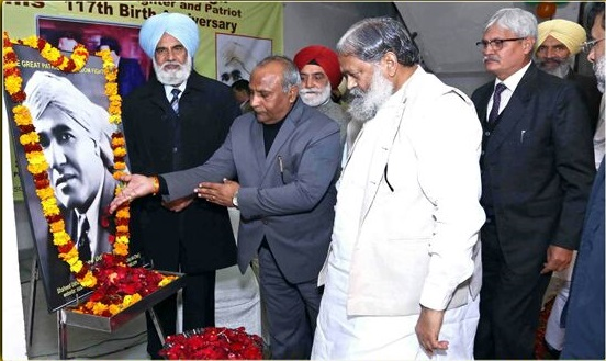 Karan Dev Kamboj urges PM to bring back pistol of Shaheed Udham Singh from London