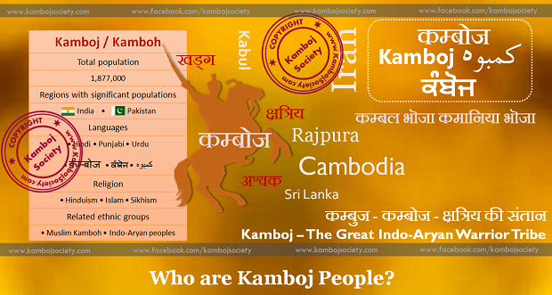 The meaning of Kamboj Word