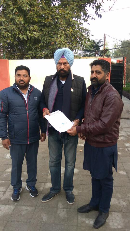 Harmeet Chand Kamboj (Pamma) appointed as secretary of the Punjab Pradesh Congress Committee