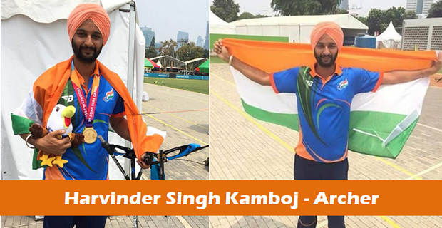Asian Para Games 2018: Harvinder Singh Kamboj wins gold in archery