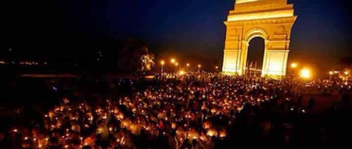 Candle March on Martyrdom Day of Shaheed Udham Singh from Jantar Mantar to India Gate