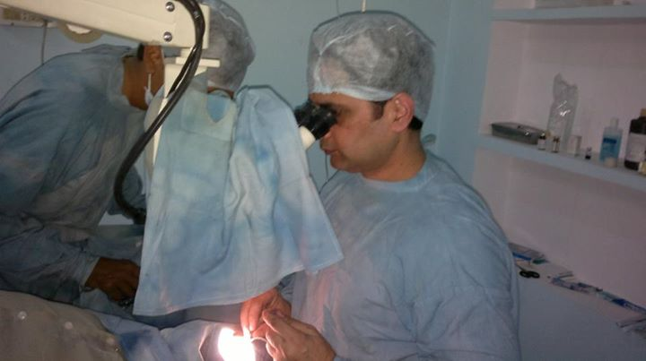 Dr. Rajiv Kamboj - Eye Surgeon and Singer
