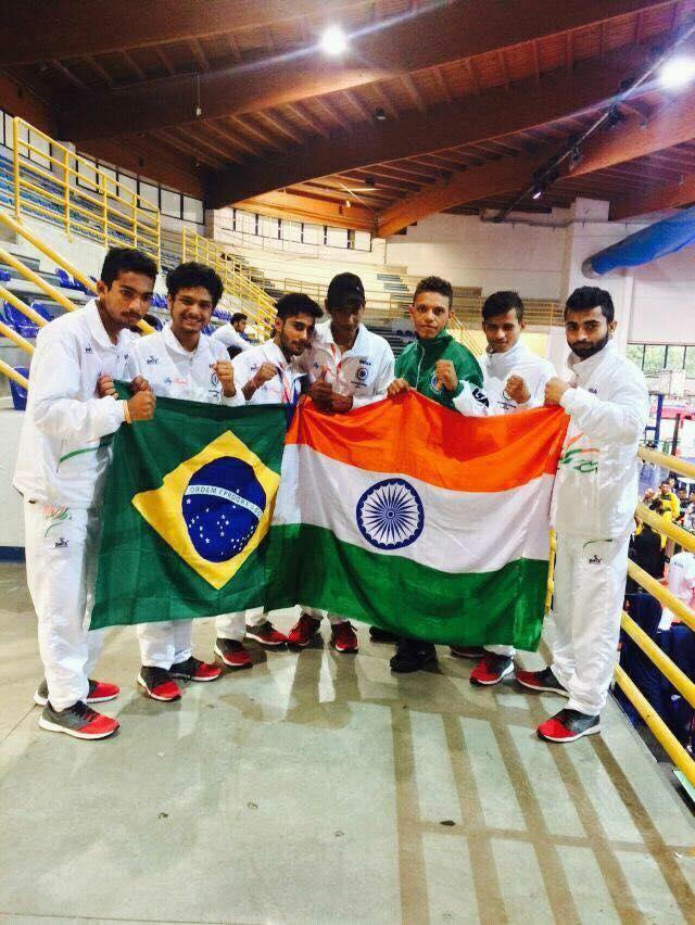 Gourav Kamboj got bronze medal in World Kickboxing Championship in Italy