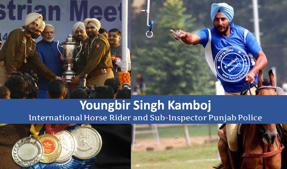Youngbir Singh Kamboj - International Horse Rider
