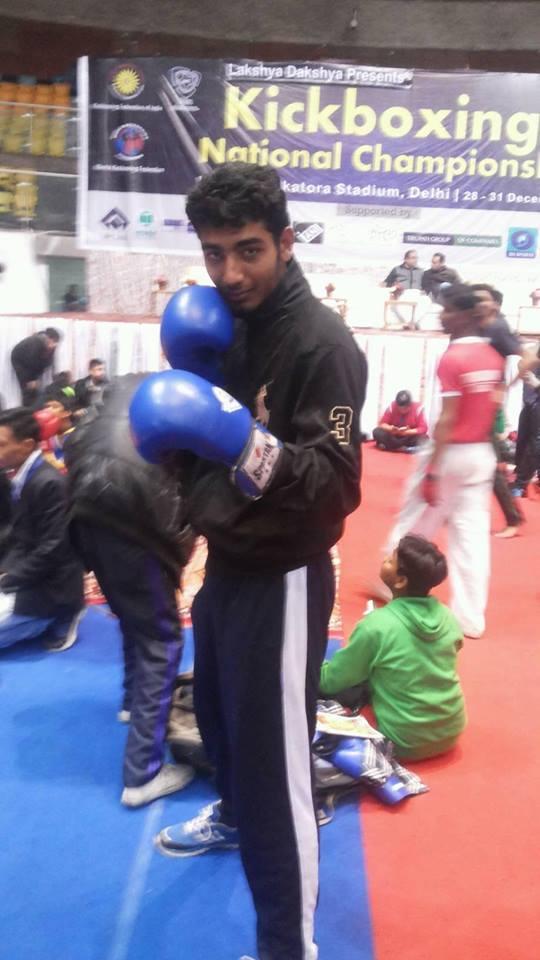Boxer Ravi Kamboj got bronze medal in Kickboxing Championship in Italy