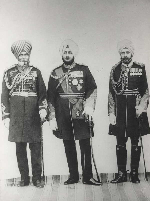 Honorary Captain Sardar Bahadur Ram Singh Mahrok