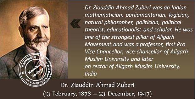Dr. Ziauddin Ahmad Zuberi