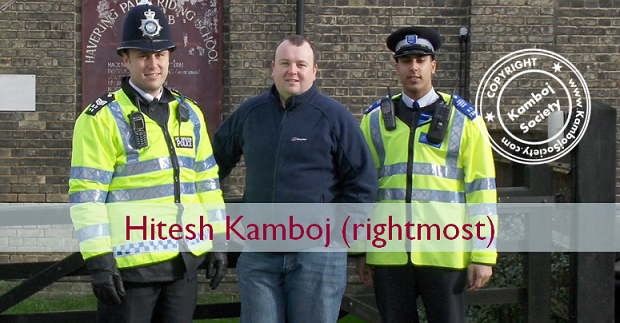 (Pictured above with Sgt Andy Barnes, left and PCSO Hitesh Kamboj, on right) The team were out and about in Bedford's and Havering Country parks in an ...