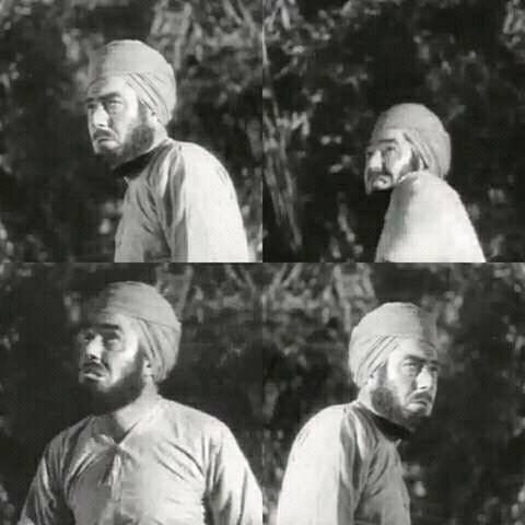 Shaheed Udham Singh acting in The Elephant Boy