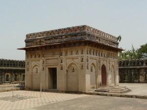 Jamali Kamali tomb, Mehrauli Archeological Park, Delhi