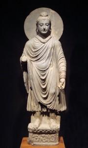 Gandhara Kamboja Dynasty Sculpture of Gautam Buddha 800 CE