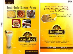 Menu-Kamboj-Sweets