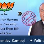Karandev Kamboj – BJP Candidate from Indri