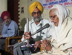 Shaheed Kartar Singh Sarabha's cousin, Bibi Jagdish Kau