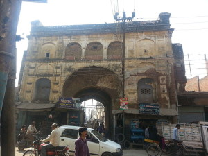 Khair nagar gate built by Nawab Khair Andesh Khan Kamboh in 1616 AD