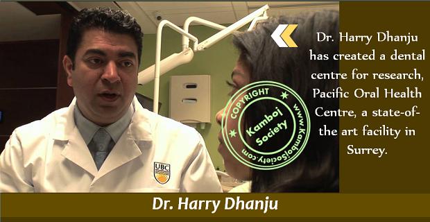 Dr. Harry Dhanju
