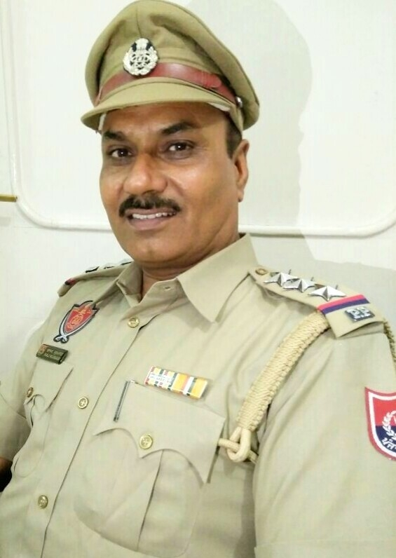 Inspector Raj Kumar Sama, Punjab Police, Fazilka.