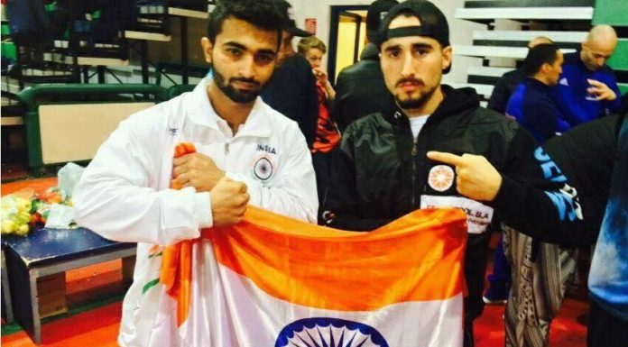 Boxer Gourav Kamboj got bronze medal in World Kickboxing Championship in Italy.