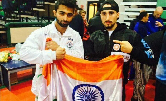 Boxer Gourav Kamboj got bronze medal in World Kickboxing Championship in Italy.