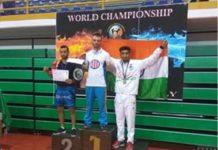Ravi Kamboj wins bronze medal in Italy in kick boxing championship