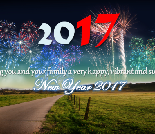 Wishing you and your family a very happy, vibrant and successful New Year 2017!!