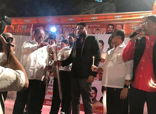 BJYM president appealed to hotels to promote use of mobile wallets such as Bhim, apart from other modes of e-payments.