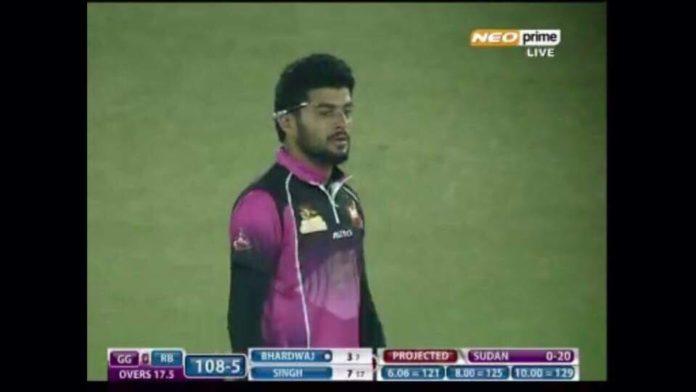 Vishal Thind - Left Handed Batsman in Gurugram Gladiators