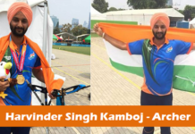 Harvinder Singh Kamboj - Archer